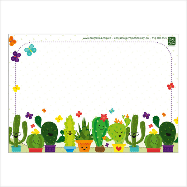 Super Stickers Cactus