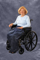 "Wheelchair Blanket, Navy, 36"" x 42"" Buy 5 or more and get FREE SHIPPING. Use Discount Code QD at Checkout"