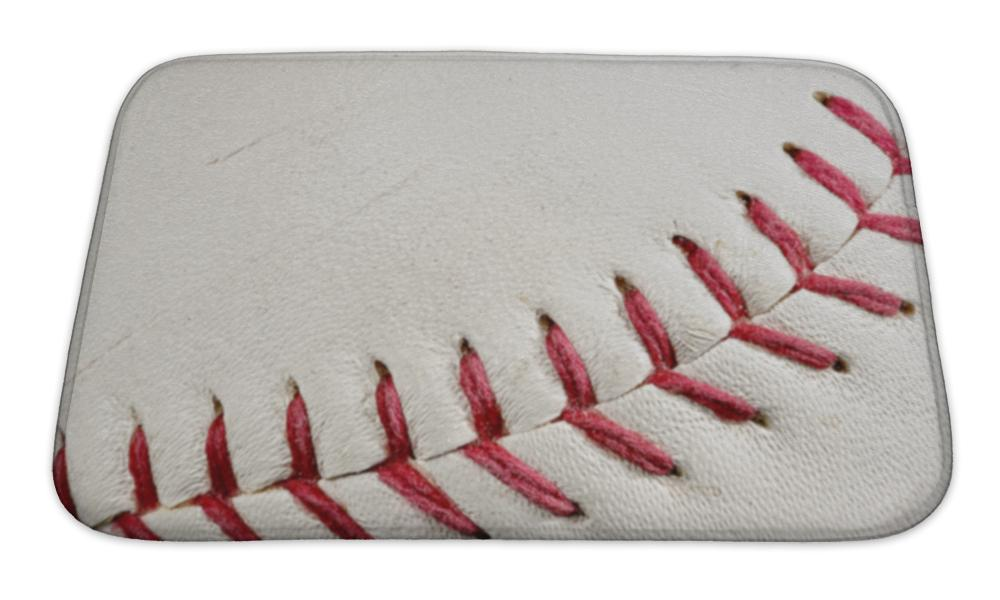 Bath Mat, Baseball Seams