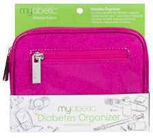 Myabetic Diabetes Organizer, Pink