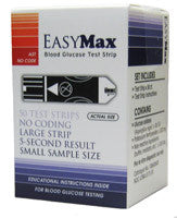 EasyMax Test Strips 50ct