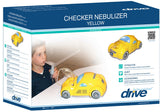 Checker® Pediatric Nebulizer, Pink/Yellow Car