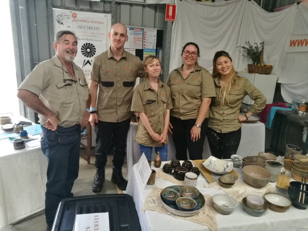 Windmill Pottery Interns