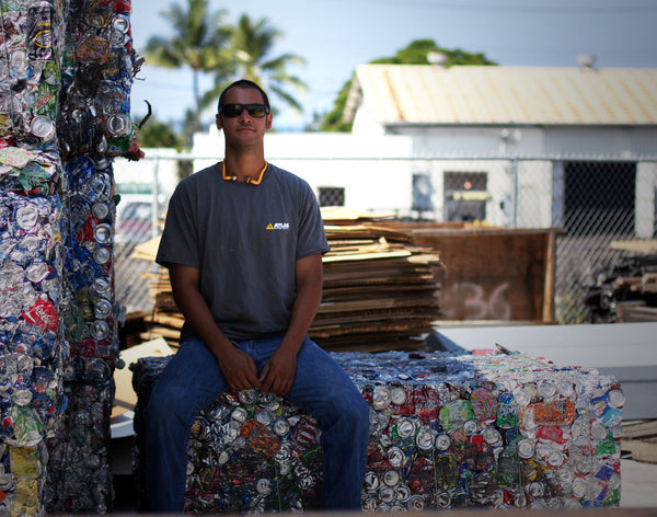 ONE MAN'S TRASH IS ANOTHER MAN'S LIFE | ELIAS ALLEN