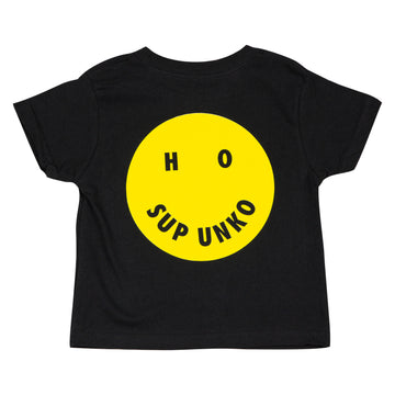 HO SUP UNKO Kids Tee - Black