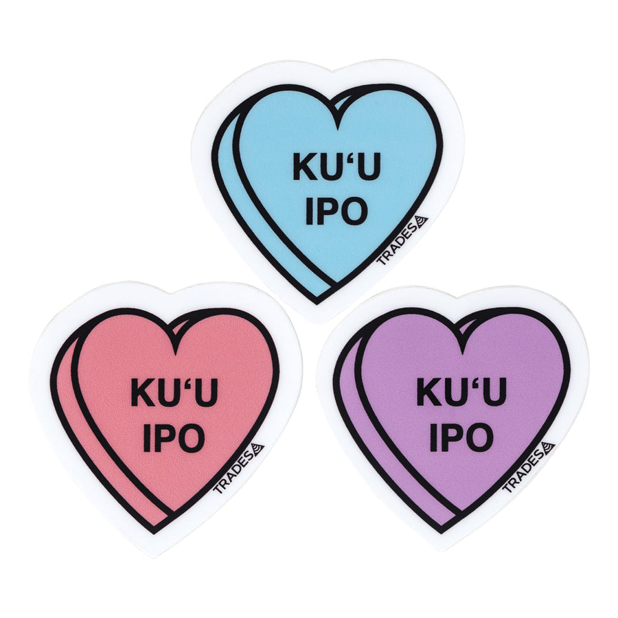 Ku'u Ipo Sticker 3-Pack
