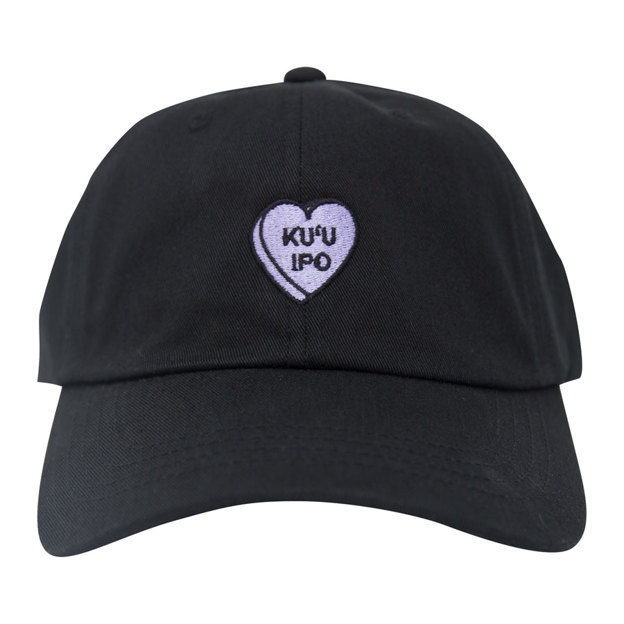 Ku'u Ipo Sweetheart Dad Hat - Black Violet