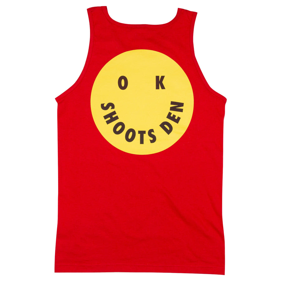 OK SHOOTS DEN Tank Top - Red