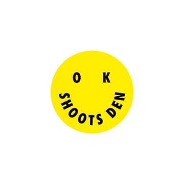 OK SHOOTS DEN Sticker