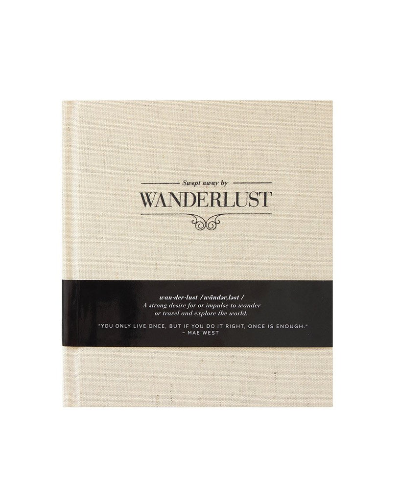 Swept Away by Wanderlust Journal