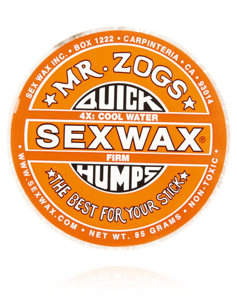 Sex Wax Quick Humps Cool Water - Orange - Natural Necessity