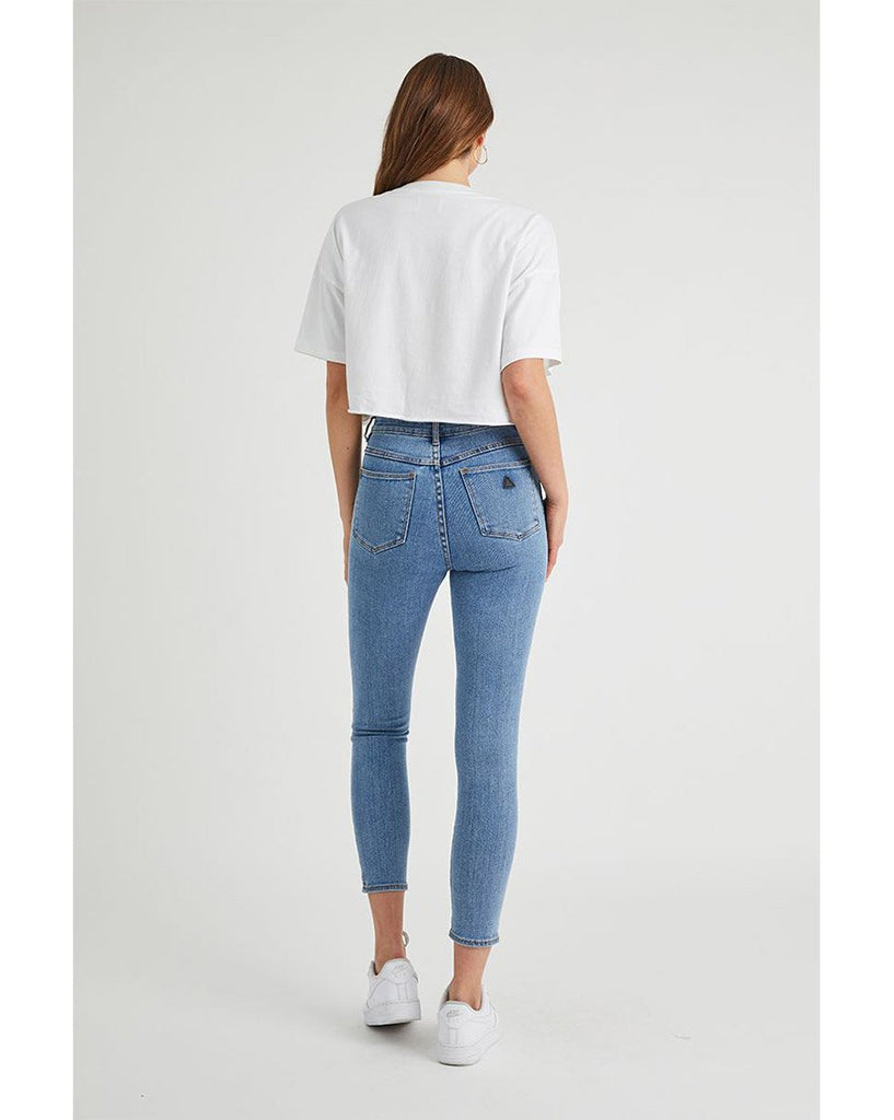 A High Skinny Ankle Basher Denim Jean