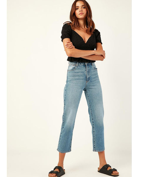 A Venice Straight Denim Jean
