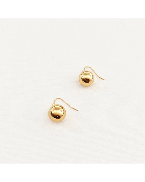 14mm Ball Hook Earrings