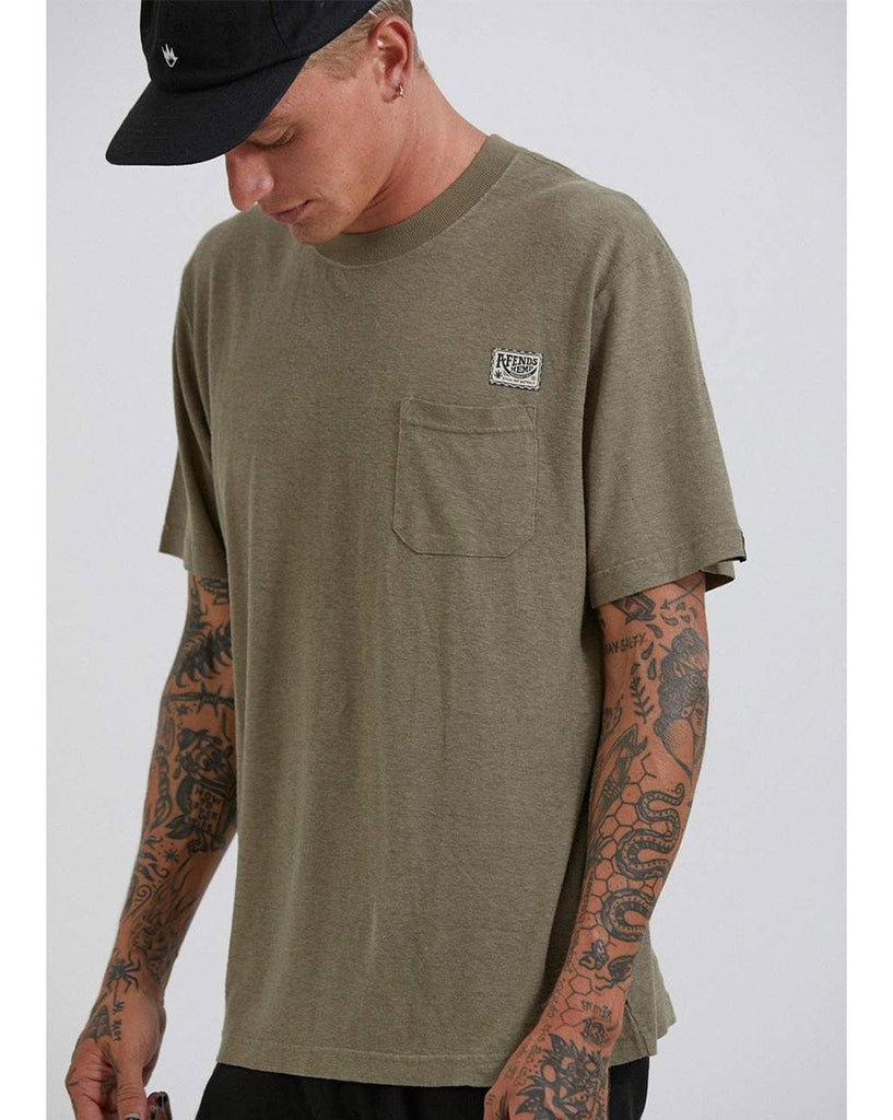 Heritage Hemp Retro Fit Tee