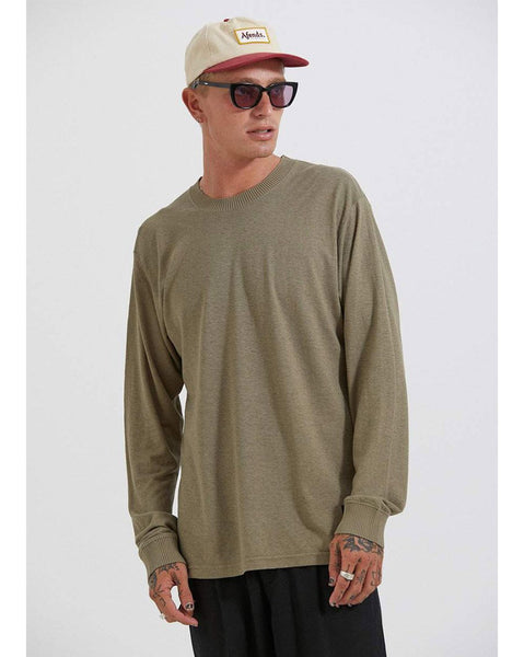 Living Hemp Retro Fit Long Sleeve Tee