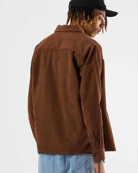 Killer Wale Corduroy Long Sleeve Shirt