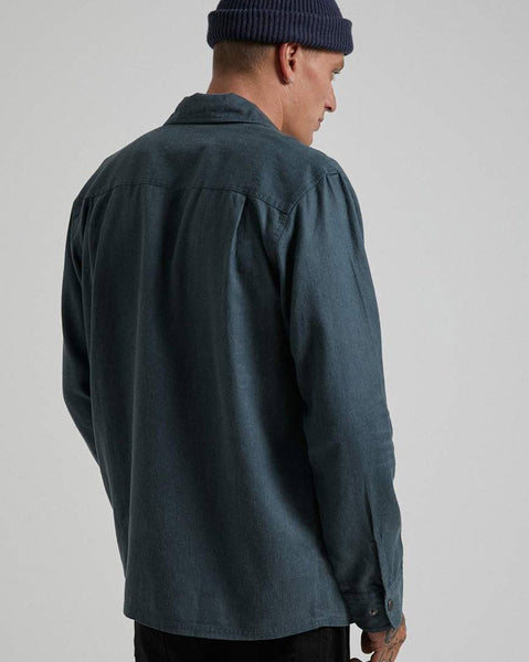 Late Start Hemp Work Long Sleeve Shirt