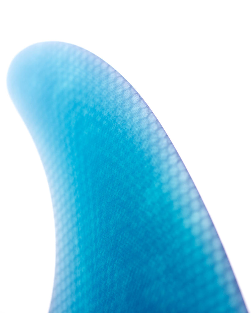 BLUE GLASS FUTURES QUAD FIN MEDIUM