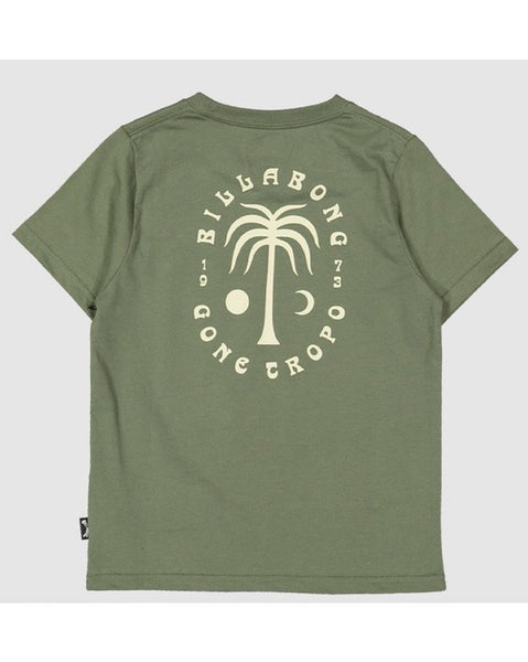 Groms Moon Palm Tee