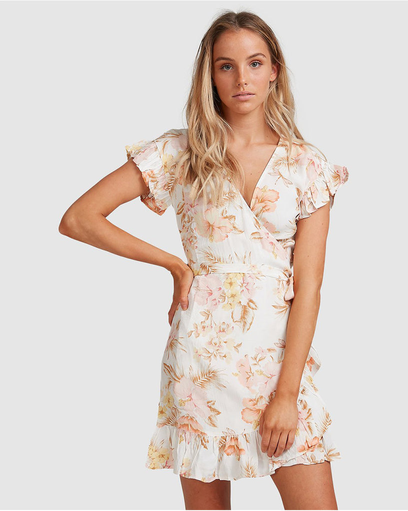 Shallows Wrap Dress