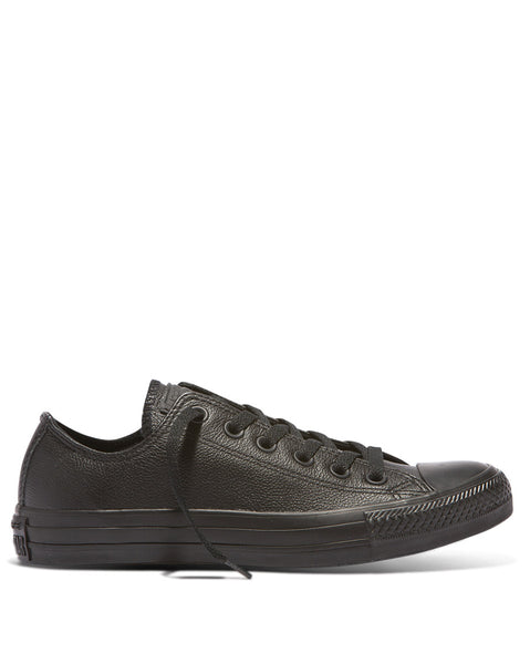 647f05beefbfd7 Converse Chuck Taylor Black Leather Mono Low - Available Today with Free  Shipping!