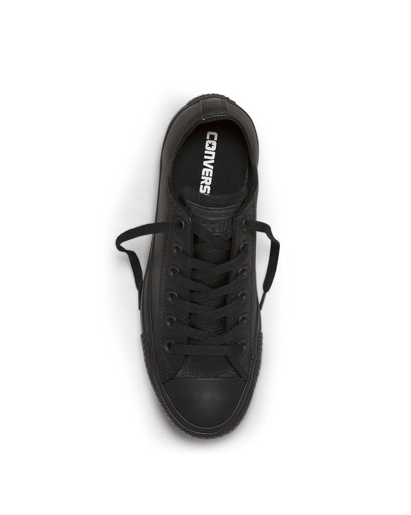 Chuck Taylor Black Leather Mono Low