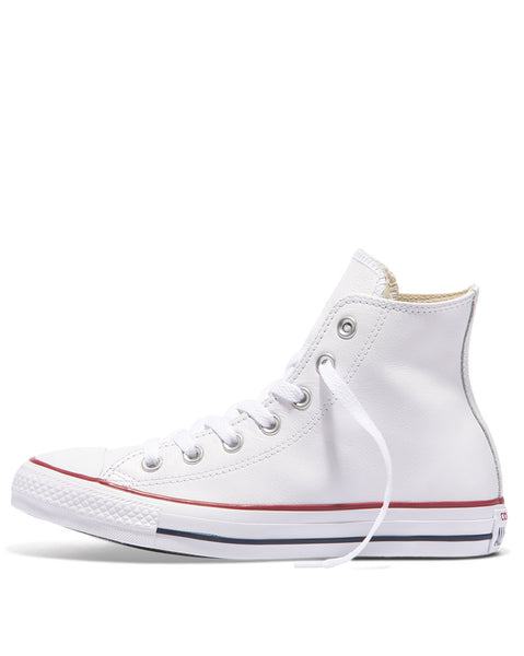 Chuck Taylor White Leather Hi