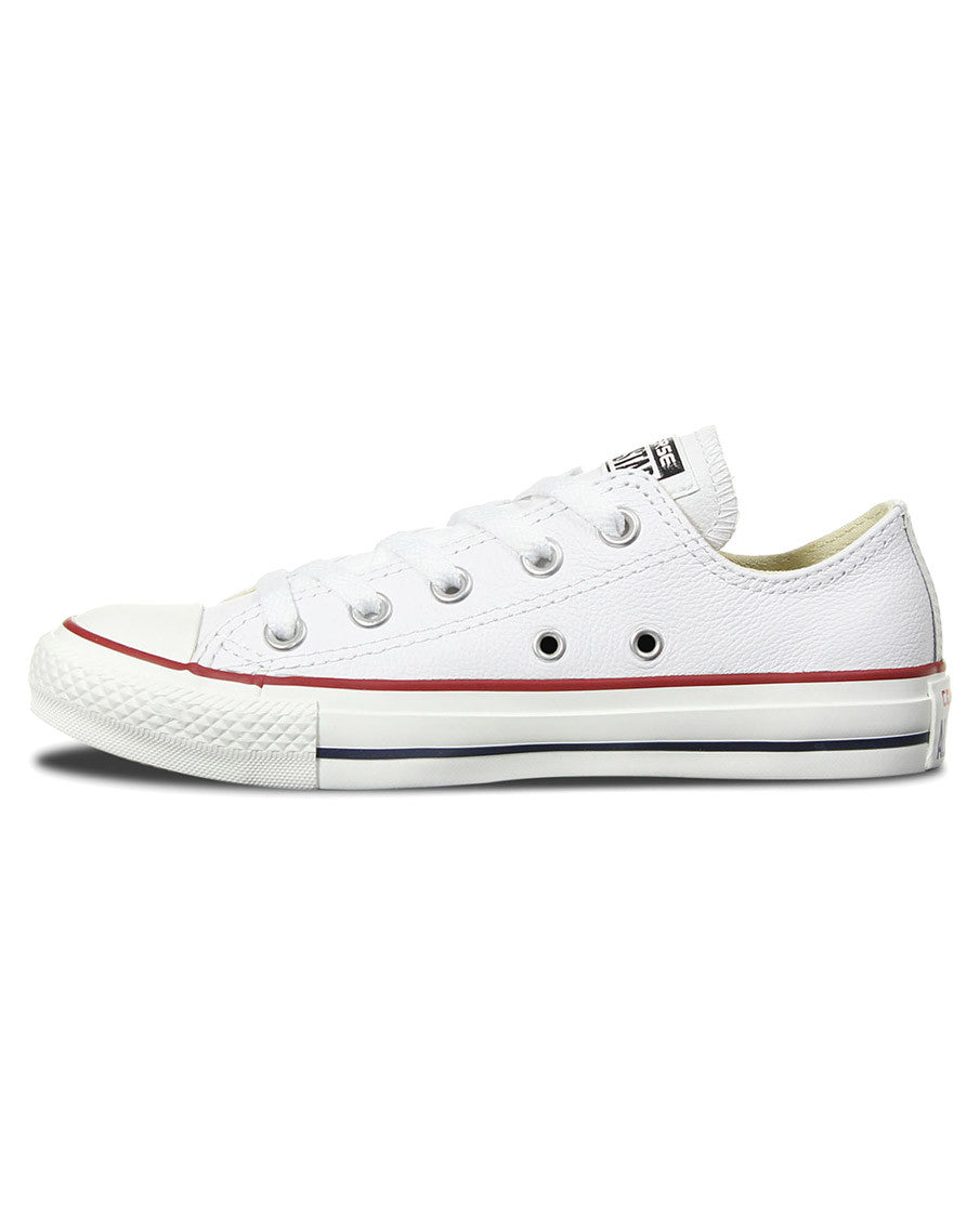 a5d847122bf2 ... Chuck Taylor All Star Leather Low Top Shoes - White - Natural Necessity  ...