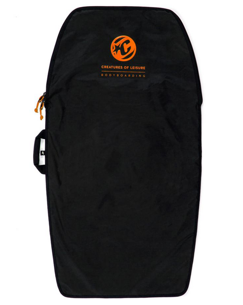 BODYBOARD LITE BLACK ORANGE
