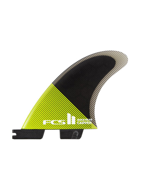FCS II Carver PC Medium Acid/Black Quad Rear Retail Fins