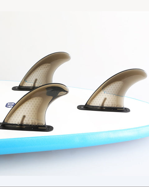 FCS II Safety Tri Fins