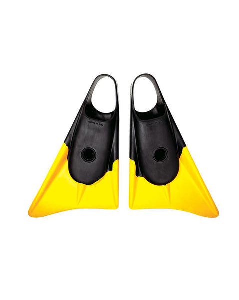 LE TEAM SPEC A- MEDIUM LARGE BLACK FOOT/YELLOW TIP