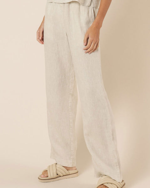 Nude Linen Lounge Pant