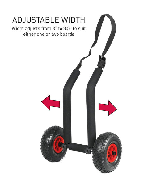 DOUBLE SUP ADJ TROLLEY
