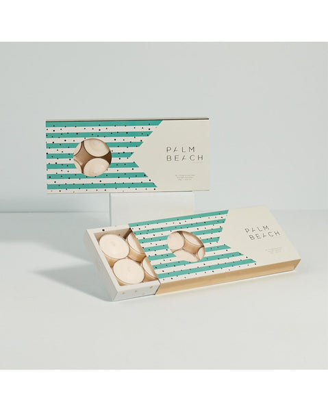 Palm Beach Tealight Pack