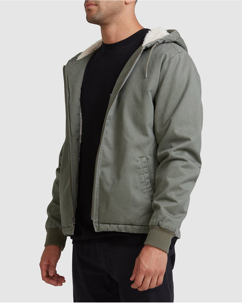 Cali Hooded Sherpa Jacket