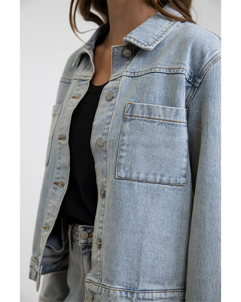 Classic Boyfriend Denim Jacket
