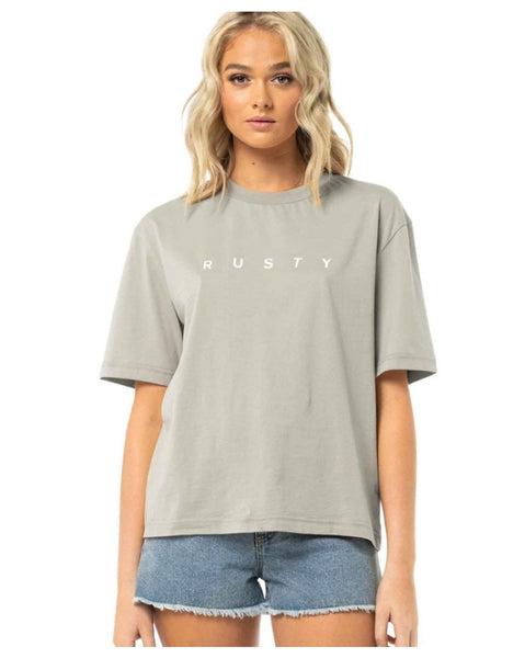 Rusty Essentials Boyfriend Elbow/S Tee