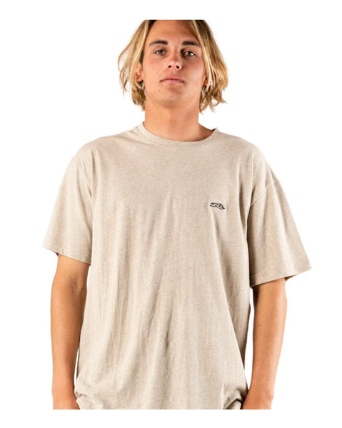 Long Tom Short Sleeve Linen Tee