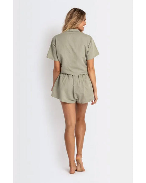 Tucson Linen Lounge Short
