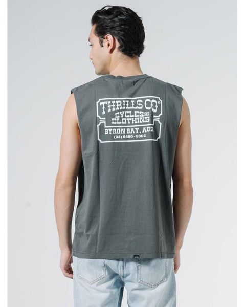 Happy Trails Merch Fit Muscle Tee