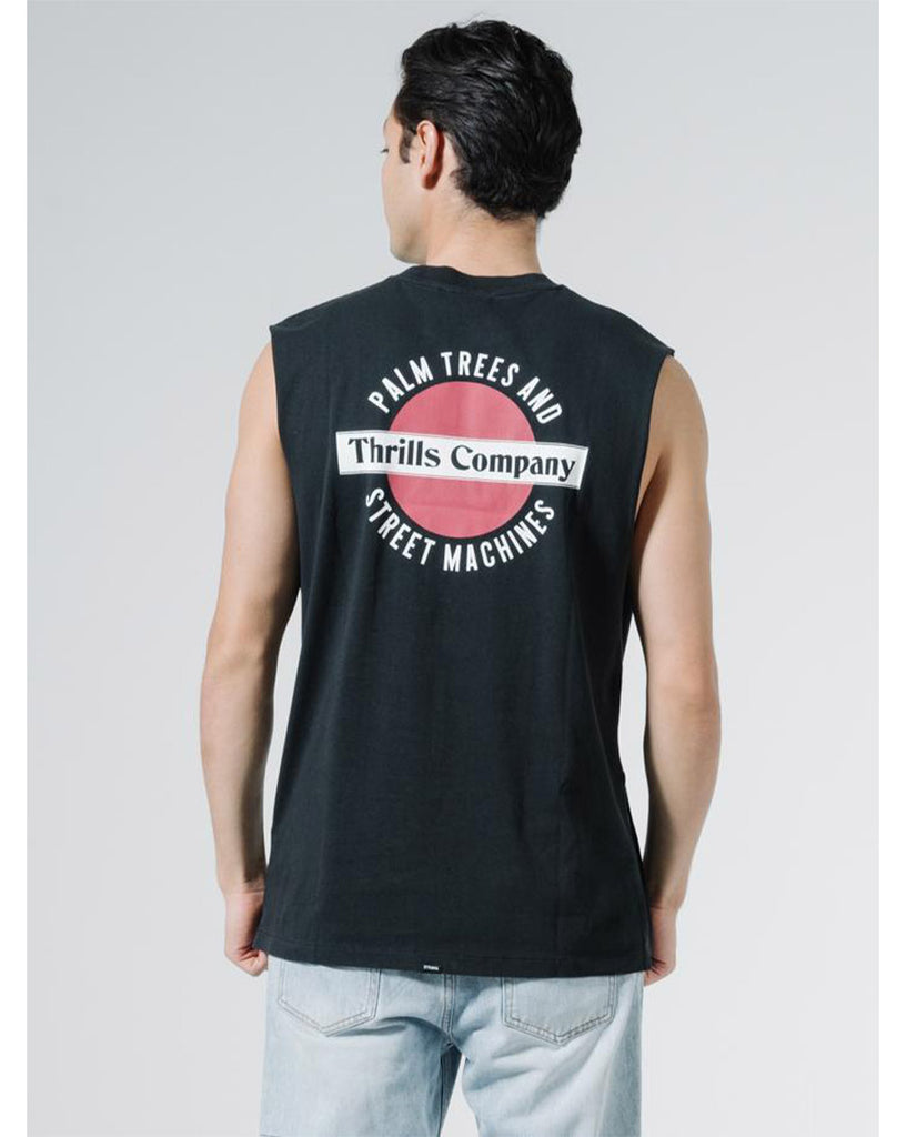 Thrills Rising Merch Fit Muscle Tee