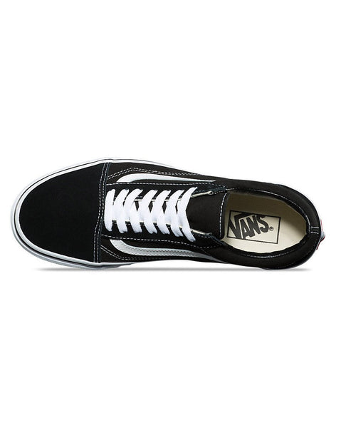 Old Skool Shoes - Black White - Natural Necessity