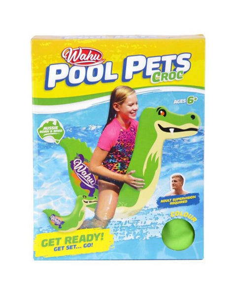Wahu Pool Pets - Croc Racer / NA / Assorted