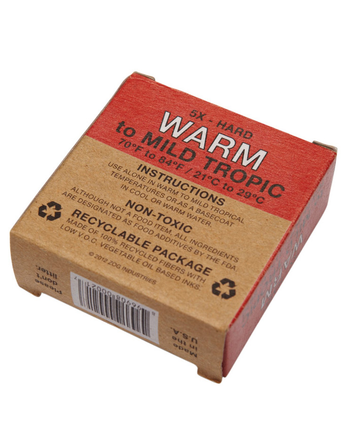 Sex Wax Quick Humps Warm - Red - Natural Necessity