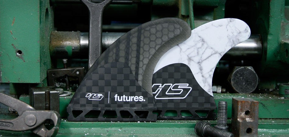 Haydenshapes 2 V2 Generation Series Smoke Tri Fin Set