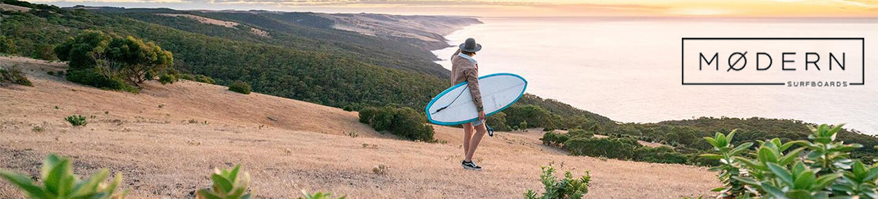 modern surfboards banner
