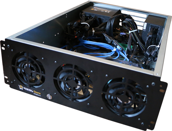 8 GPU Rack Mountable Barebone Kit