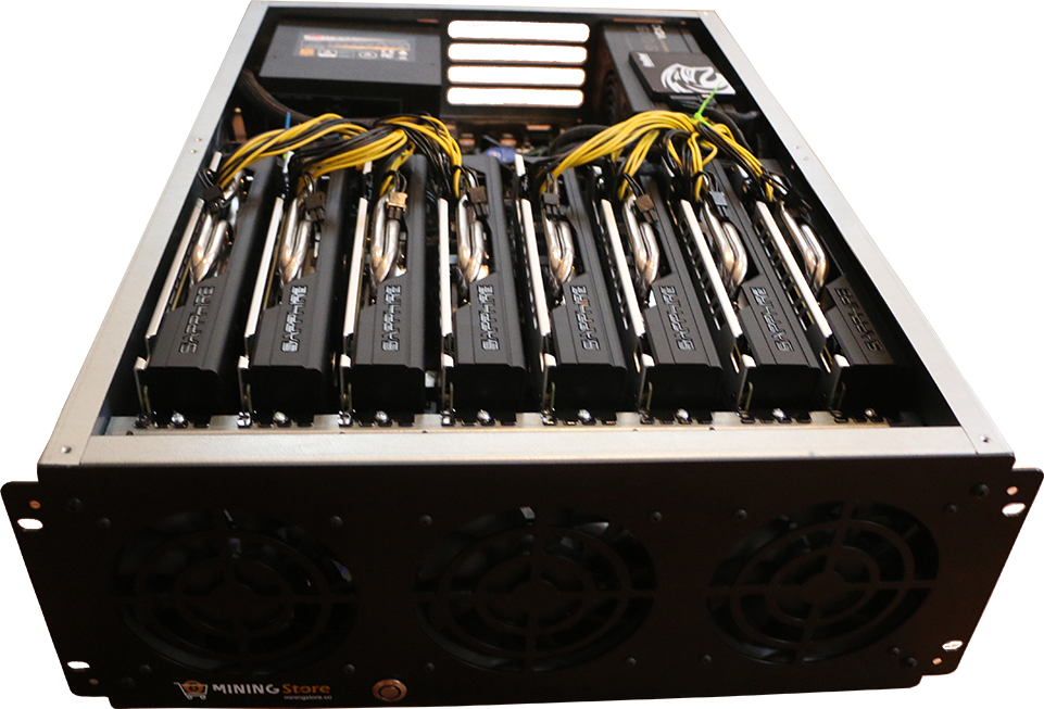 NEXUS (PROFESSIONAL ZCASH MINING RIG - 2200H/S) - 1300 Watts